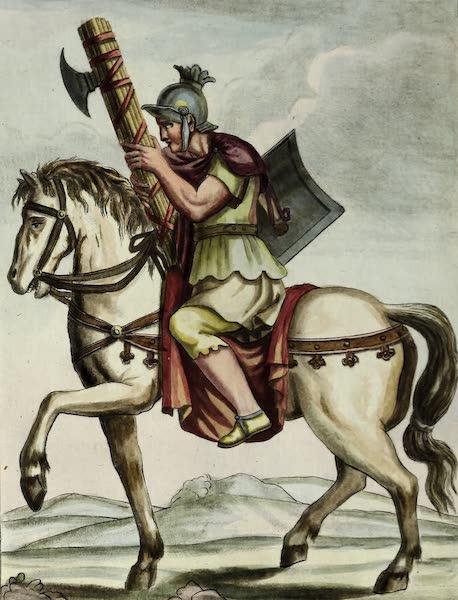 L'antique Rome, ou, Description Historique et Pittoresque - Licteur a pied (1796)