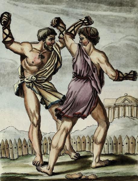 L'antique Rome, ou, Description Historique et Pittoresque - Gladiateurs-pugilats (1796)
