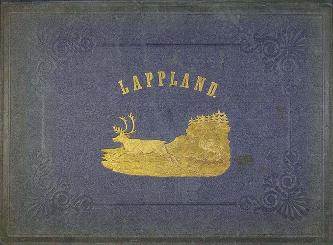Aquatint & Lithography - Lappland, dess natur och folk