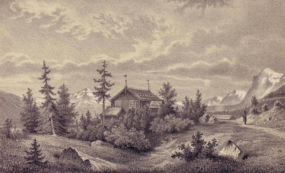Lappland, dess natur och folk - Qvickjocks Kapell (1871)
