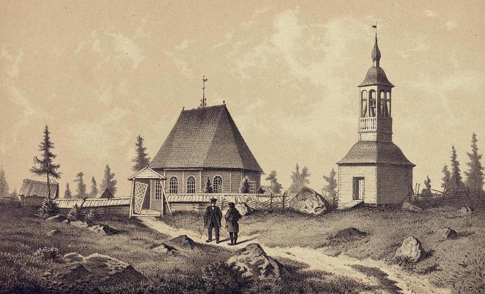 Lappland, dess natur och folk - Jockmocks Kapell (1871)