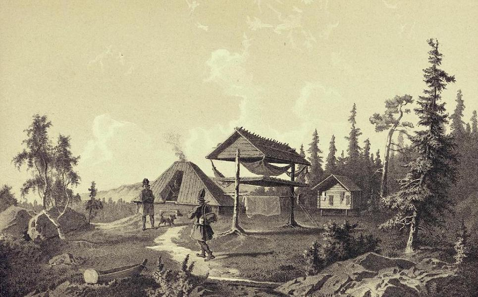 Lappland, dess natur och folk - Skogs-Lappar (1871)