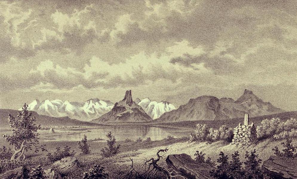 Lappland, dess natur och folk - Kockinmoda-Roset (Sveriges nordligaste punkt emellan Sverige, Norige & Ryssland) (1871)