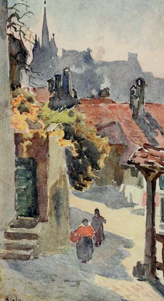 Lausanne, Painted and Described - The Spires of St. Francois, Lausanne (1909)