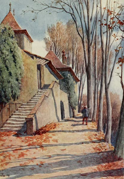 Lausanne, Painted and Described - Chateau de Prangins (1909)