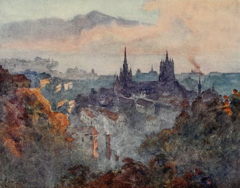 Lausanne, Painted and Described - Lausanne from the Signal (1909)