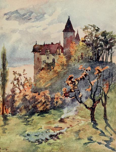 Lausanne, Painted and Described - Chateau de Blonay (1909)