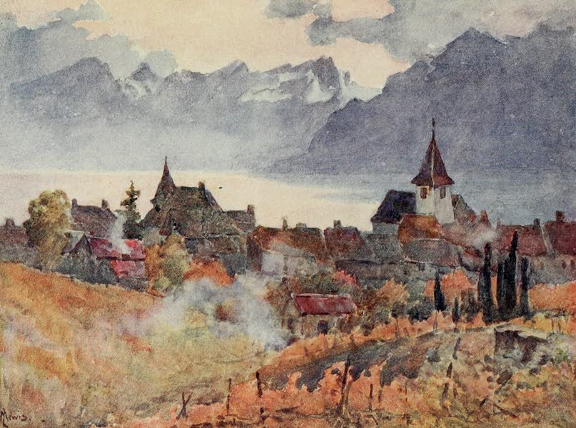 Lausanne, Painted and Described - Lutry (1909)