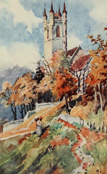 Lausanne, Painted and Described - The Church of St. Martin, Vevey (1909)