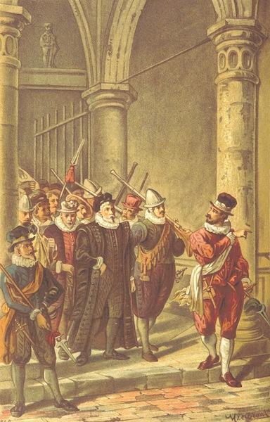 Lauwerbladen uit Neerlands Gloriekrans - Een Opstanding (1875)