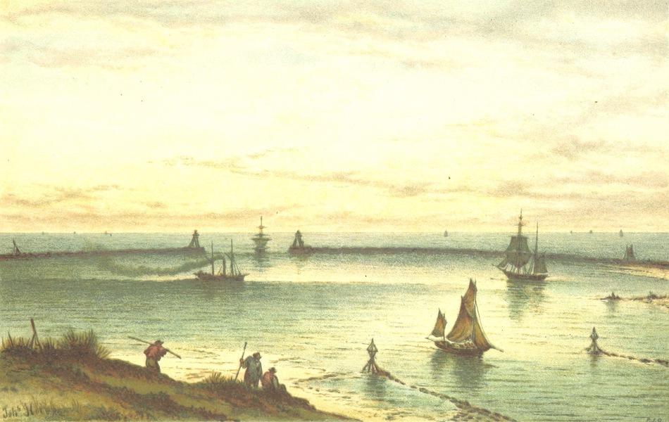 Lauwerbladen uit Neerlands Gloriekrans - Amsterdam Aan Zee Gebracht (1875)