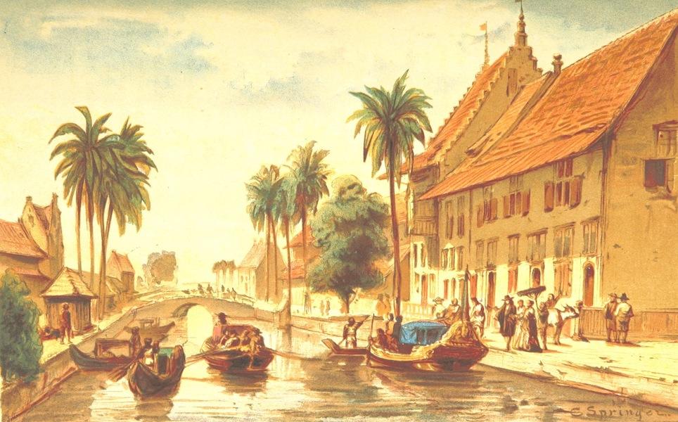 Lauwerbladen uit Neerlands Gloriekrans - Amsterdam Aan De Tji Liwong (1875)