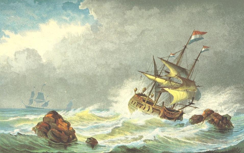 Lauwerbladen uit Neerlands Gloriekrans - Goudzoekers Ter Zee (1875)