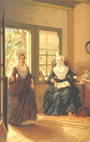 Lauwerbladen uit Neerlands Gloriekrans - In Een Tuinhuis (1875)