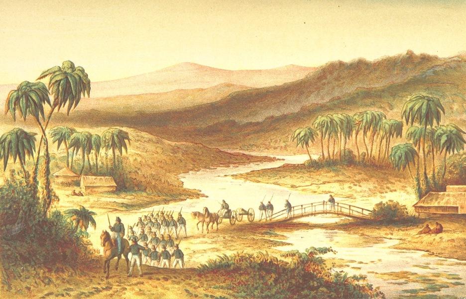 Lauwerbladen uit Neerlands Gloriekrans - Een Mobiele Kolonne (1875)