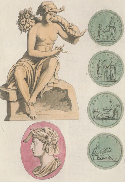 Le Costume Ancien et Moderne [Afrique] Vol. 1 - Afrique representee par les anciens (1815)
