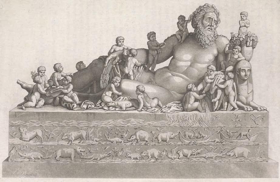 Le Costume Ancien et Moderne [Afrique] Vol. 1 - Le Nil represente par les anciens (1815)