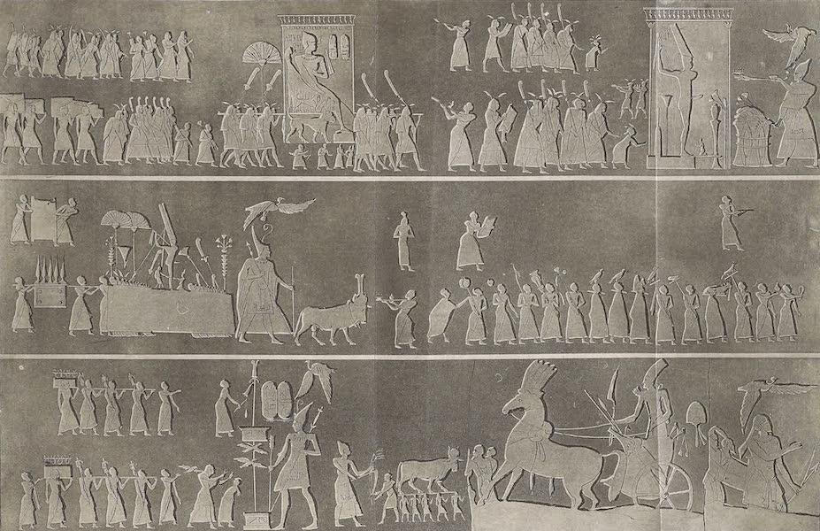 Le Costume Ancien et Moderne [Afrique] Vol. 1 - Grand bas-relief de Thebes (1815)