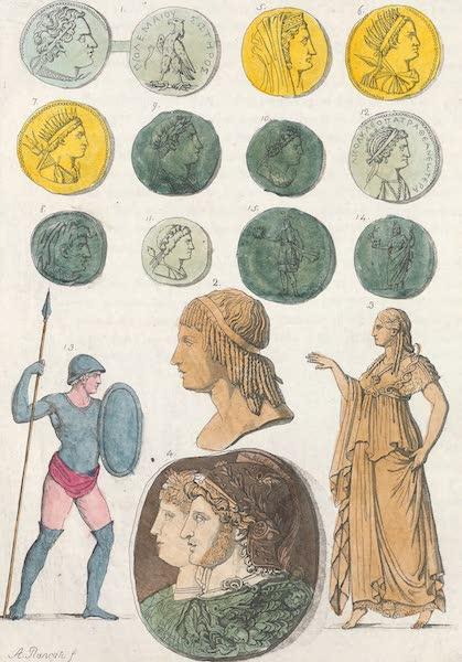 Le Costume Ancien et Moderne [Afrique] Vol. 1 - Medailles des Ptolemees (1815)