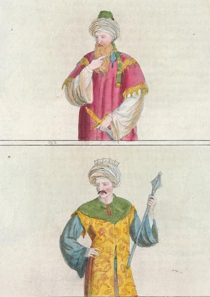 Le Costume Ancien et Moderne [Afrique] Vol. 1 - Les Sultans Saladin et Selim (1815)