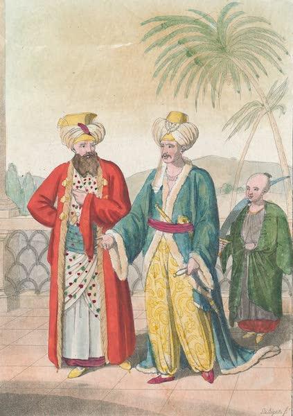 Le Costume Ancien et Moderne [Afrique] Vol. 1 - Pacha et Bey (1815)