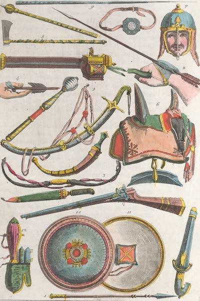Le Costume Ancien et Moderne [Afrique] Vol. 1 - Armes des Mamelouks (1815)