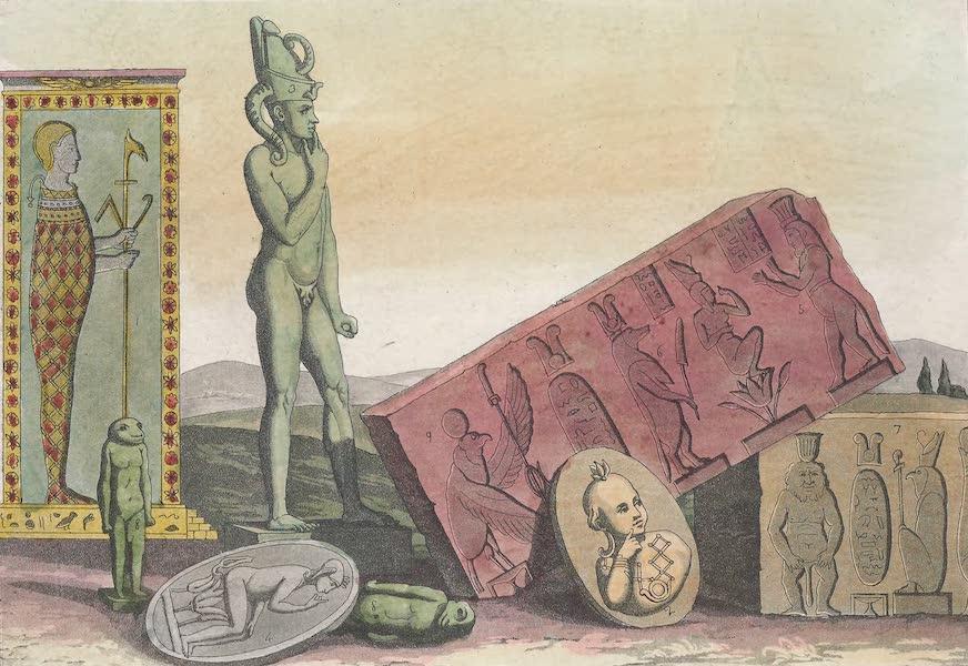 Le Costume Ancien et Moderne [Afrique] Vol. 1 - Orus, Harpocrates etc (1815)
