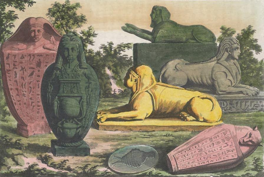 Le Costume Ancien et Moderne [Afrique] Vol. 1 - Sphinx, Canope (1815)