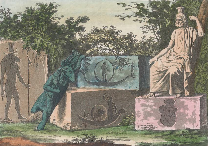 Le Costume Ancien et Moderne [Afrique] Vol. 1 - Serapis (1815)