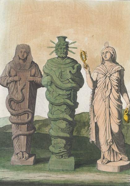 Le Costume Ancien et Moderne [Afrique] Vol. 1 - Divinites Egyptiennes de style Grec (1815)
