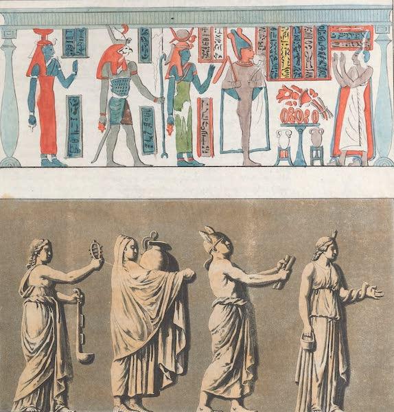 Le Costume Ancien et Moderne [Afrique] Vol. 1 - Pretres d'apres un manuscrit Egyptien et le bas-relief Mattei (1815)