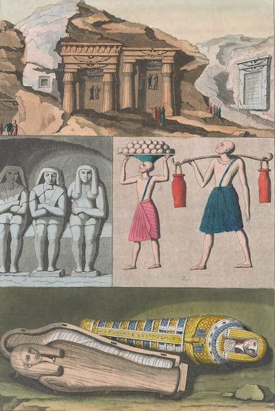 Le Costume Ancien et Moderne [Afrique] Vol. 1 - Tombeaux, Momies etc (1815)