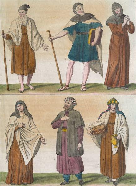 Le Costume Ancien et Moderne [Afrique] Vol. 1 - S. Antoine Abbe, S. Pacome etc (1815)