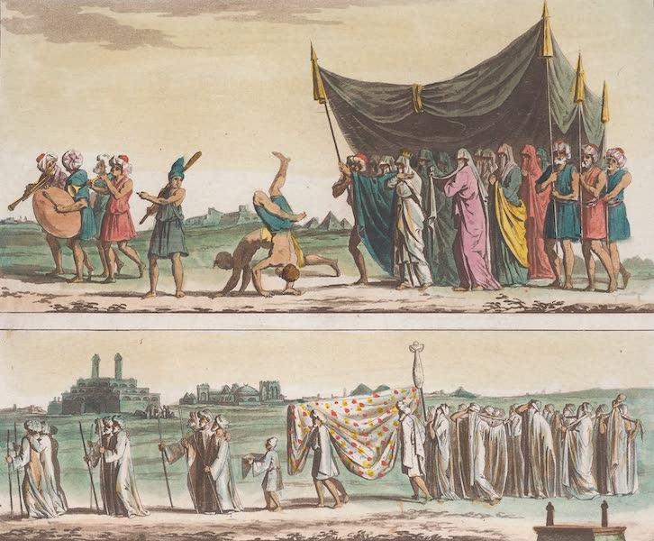 Le Costume Ancien et Moderne [Afrique] Vol. 1 - Ceremonies nuptiales et funebres (1815)