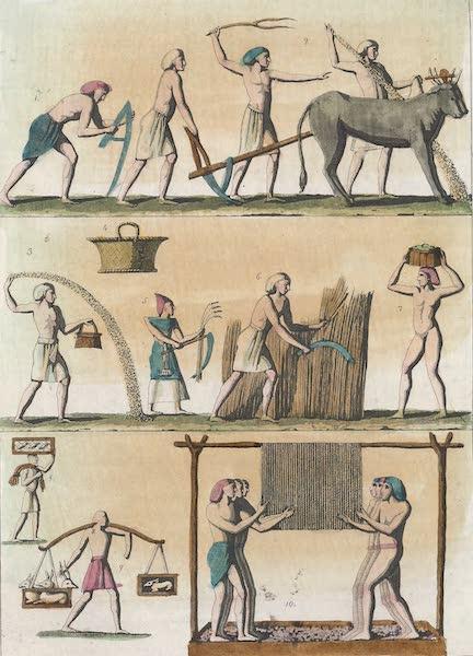 Le Costume Ancien et Moderne [Afrique] Vol. 1 - Agriculture (1815)