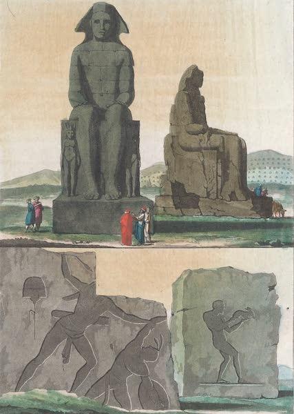 Le Costume Ancien et Moderne [Afrique] Vol. 1 - Statues de Memnon (1815)