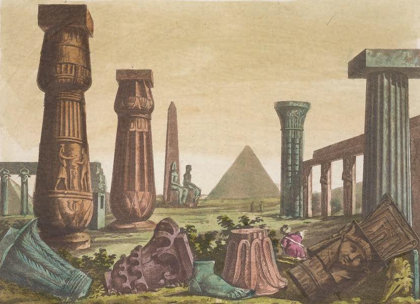 Le Costume Ancien et Moderne [Afrique] Vol. 1 - Plusieurs monumens de l'antique Architecture Egyptienne (1815)