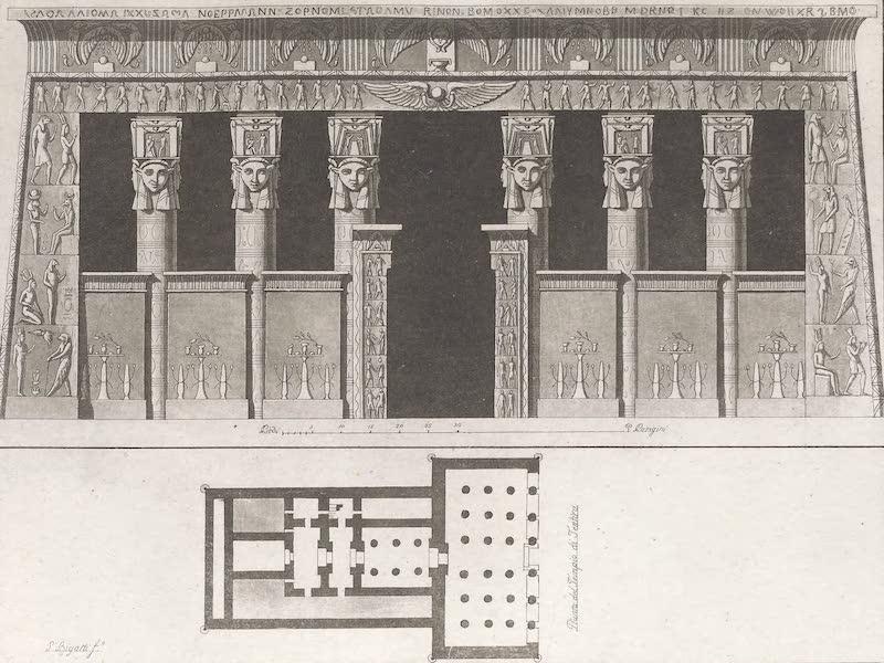 Le Costume Ancien et Moderne [Afrique] Vol. 1 - Temple de Tentyre (1815)