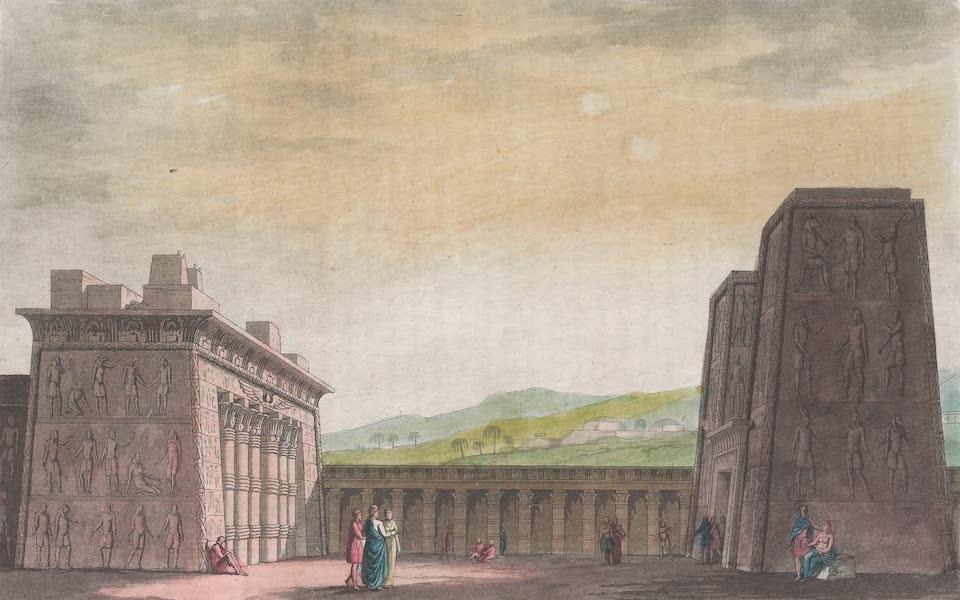 Le Costume Ancien et Moderne [Afrique] Vol. 1 - Temple d'Appollinopolis la grande (1815)