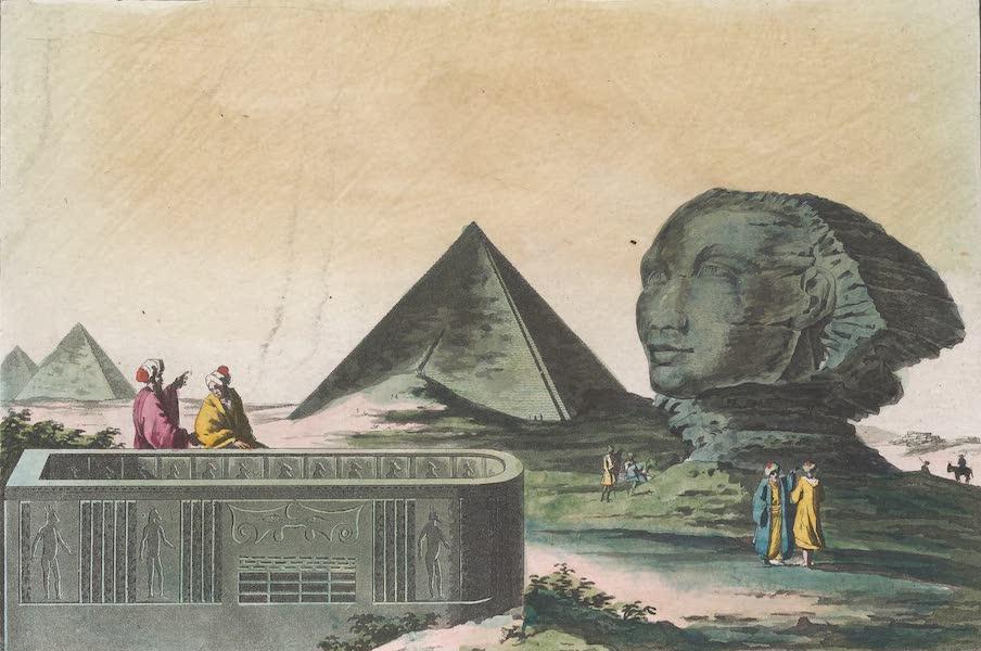 Le Costume Ancien et Moderne [Afrique] Vol. 1 - Pyramides etc (1815)
