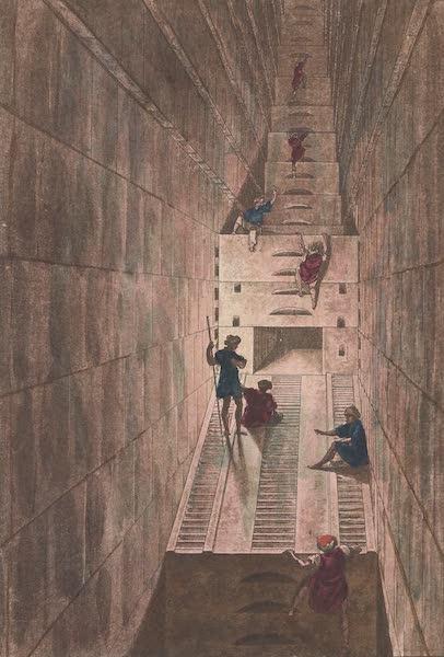 Le Costume Ancien et Moderne [Afrique] Vol. 1 - Interieur de la grande pyramide (1815)
