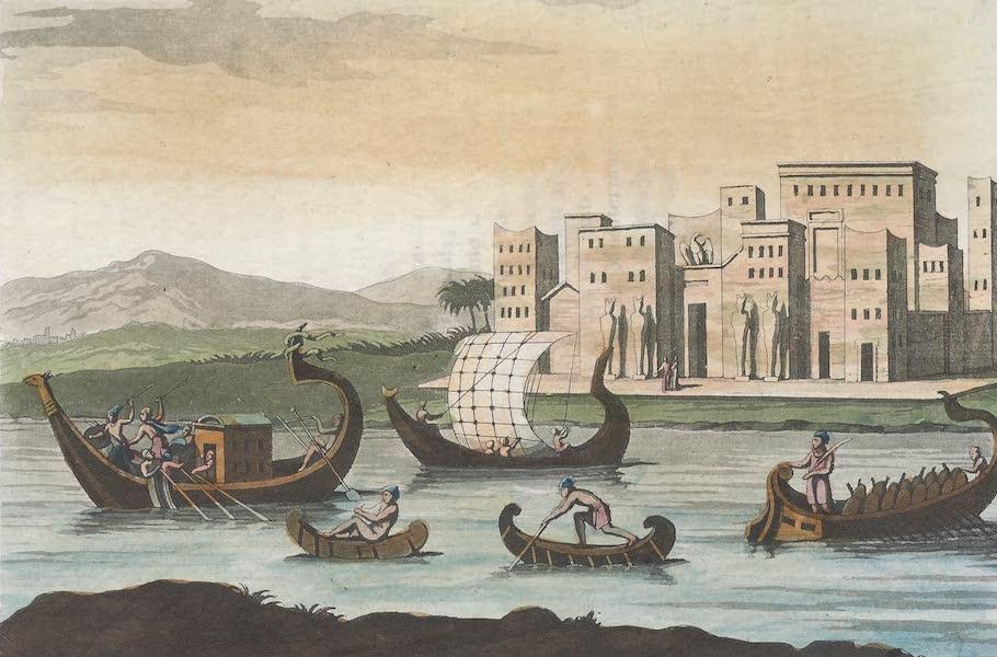 Le Costume Ancien et Moderne [Afrique] Vol. 1 - Navires Egyptiens (1815)