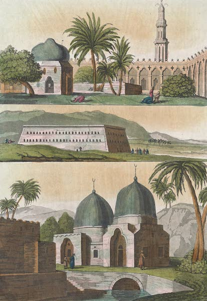 Le Costume Ancien et Moderne [Afrique] Vol. 1 - Nouvelle architecture Egyptienne (1815)