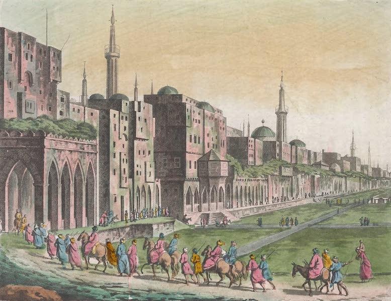 Le Costume Ancien et Moderne [Afrique] Vol. 1 - Grande place du Caire (1815)