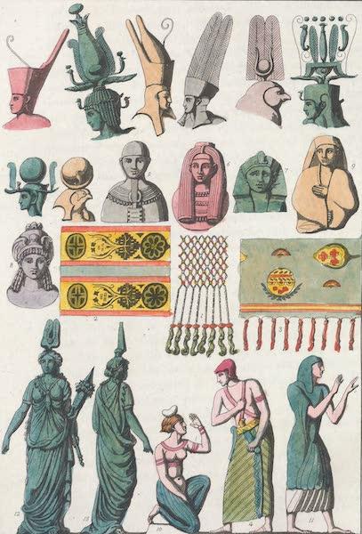 Le Costume Ancien et Moderne [Afrique] Vol. 1 - Habillement des anciens Egyptiens (1815)