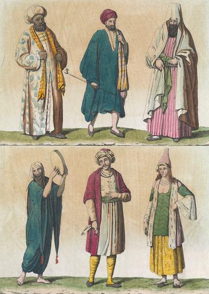 Le Costume Ancien et Moderne [Afrique] Vol. 1 - Autres manieres de se vetir decrites par Dapper etc (1815)
