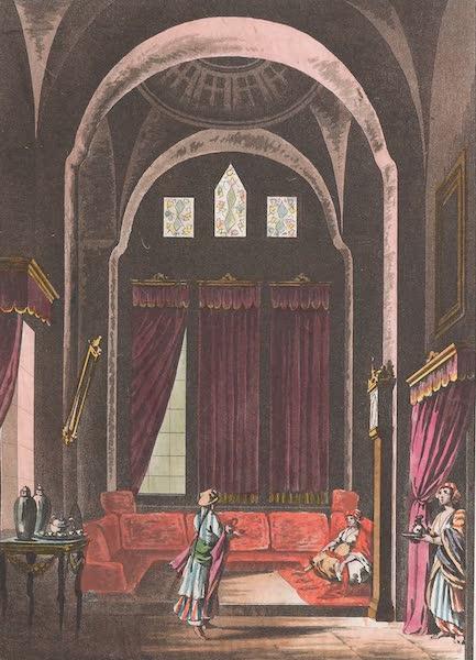 Le Costume Ancien et Moderne [Afrique] Vol. 1 - Chambre meublee a la mode du pays (1815)