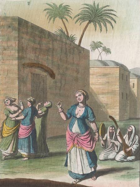 Le Costume Ancien et Moderne [Afrique] Vol. 1 - Danses des Egyptiennes (1815)