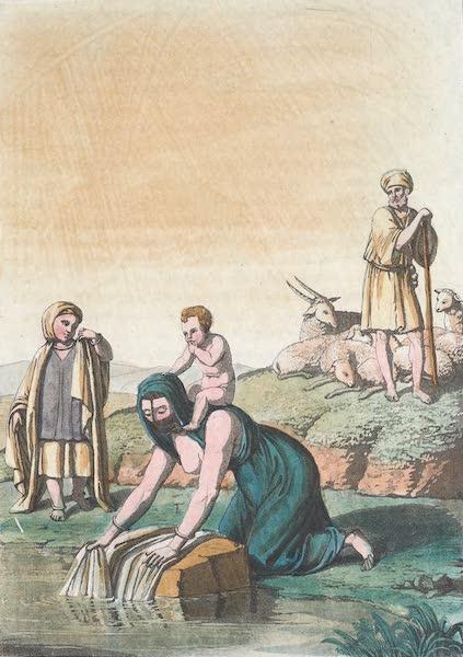 Le Costume Ancien et Moderne [Afrique] Vol. 1 - Habillement des gens de la campagne (1815)