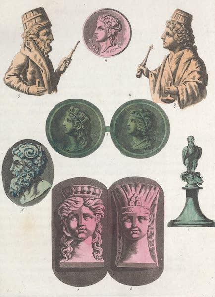 Le Costume Ancien et Moderne [Afrique] Vol. 1 - Medaille de Battus et Pheretime (1815)